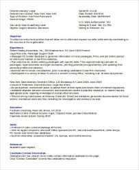 Examples Of Legal Assistant Resumes by Sample Legal Assistant Resume 8 Examples In Word Pdf