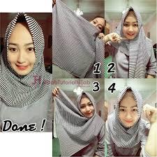 simple hijab styles tutorial segi empat 90 galery tutorial hijab segi empat trend 2017 paling fenomenal