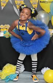 Girls Minion Halloween Costume Blue Pink Minion Halloween Costume Minion Birthday Party