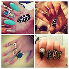 images of rihanna stiletto nails designs nail craze