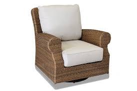 Patio Furniture Swivel Chairs Sunset West Santa Cruz Wicker Swivel Rocker Wicker Rocking