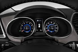 2015 hyundai santa fe sport gauges interior photo automotive com