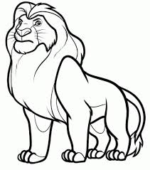 The Most Brilliant Coloring Pages Of Lions To Inspire In Coloring