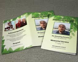 Funeral Program Designs Printable Funeral Program Template Memorial Program Template