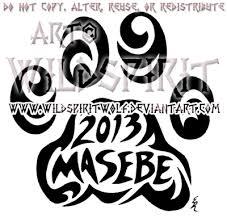 masebe tribal lion paw print design by wildspiritwolf on deviantart