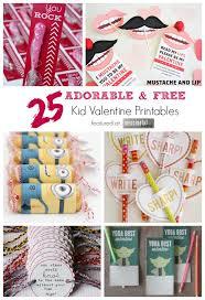 kid valentines 25 adorable free kid printables