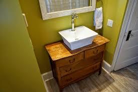 custom bathroom vanity from old dresser u2013 when the baby sleeps