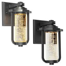 lighting exterior wall sconce and galvanized outdoor lighting