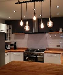 Kitchen Industrial Lighting 5 Pendant Light Wrap A Pipe Or Bar Modern Chandelier