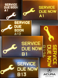Dashboard Light Meanings Acura Maintenance Lights What Does This Mean Scanlon Acura In