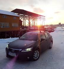 lexus calgary ct200h some winter pictures from northern norway