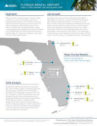Map For Florida cushman u0026 wakefield tampa u2013 cushman u0026 wakefield report demand for