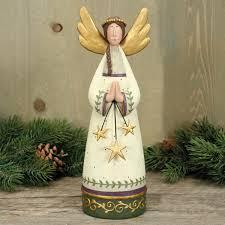 folk art angel figurine christmas folk art u0026 holiday