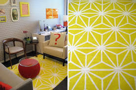 Geometric Bath Rug 20 Diy Rugs To Brighten Up Your Space Brit Co