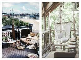 balkon accessoires boho garten und balkon deko inspiration the mermaids