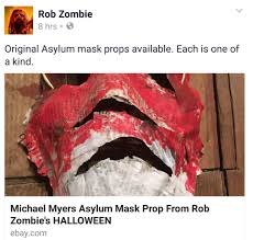 Ebay Halloween Props Here U0027s Your Chance To Own A Movie Prop From Rob Zombie U0027s Halloween