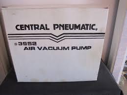 Central Pneumatic Staples by Central Pneumatic Air Vacuum Pump 3952 Ac Air Vac Repair Tool Shop