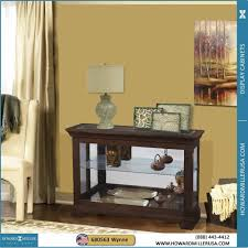 Glass Front Living Room Cabinets Curio Cabinet Console Curiolay Cabinet Best Cabinets Ideas On