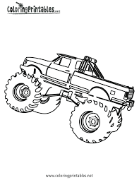 monster trucks coloring pages truck coloring page ngbasic com