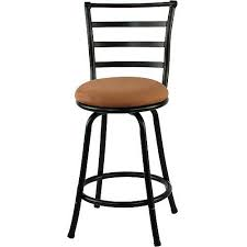 24 Bar Stool With Back Mainstays 24 Ladder Back Barstool Colors Walmart