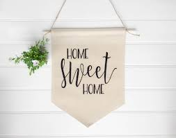 banner home sweet home banner wall sign wall decor wall art