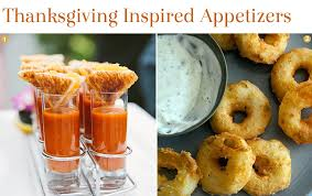 cuisine thanksgiving inspired appetizers exquisite weddings