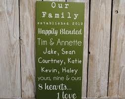 wedding quotes joining families blended family quotes blended family sign established dat e sign