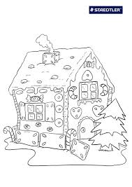 picture of gingerbread house to color house and home design