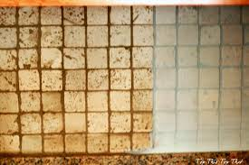 how to paint tile backsplash in kitchen painting a kitchen backsplash duke manor farm