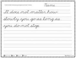 handwriting worksheets 60 days of cursive copywork practice