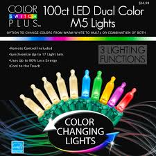 color switch plus dual color changing led m5 lights with