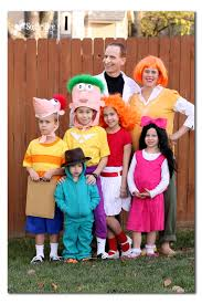 family costumes phineas and ferb diy family costumes costumes family