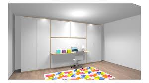 lit escamotable avec bureau lit escamotable avec bureau rangements personnalisé pour mme