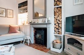 modern country living room elle s modern country home downstairs rock my style uk daily