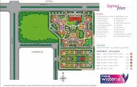 house plan 45 8 62 4 prateek wisteria sector 77 noida