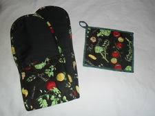 floral u0026 nature oven mitts and potholders ebay