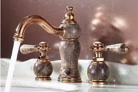 Gold Bathroom Faucet denis widespread rose gold bathroom sink faucet