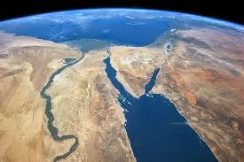 Satellite Image of Egypt Social Studies with Mr  McGinty