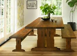 beal trestle dining table the joinery portland oregon