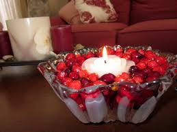 Christmas Table Decoration Ideas With Candles by Wedding And Holiday Table Centerpieces Do It Yourself Inexpensively