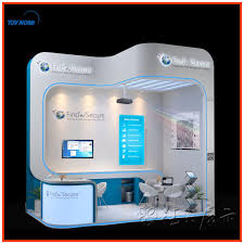 portable photo booth exhibition mudular portable booth kiosk design from shanghai view