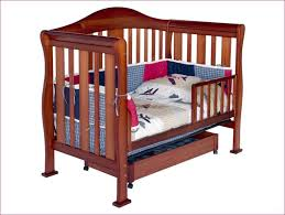 Convertible Crib Toddler Bed Rail Contvertible Cribs Wooden Modern Purple Baby Mod Toddler Bed