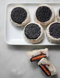 vegan mini oreo cheesecakes for halloween