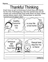 thanksgiving activities worksheets lessons and printables