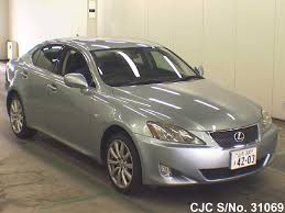 used lexus cars for sale in japan 2006 lexus is 250 silver for sale stock no 31069 japanese