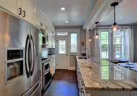 open galley kitchen designs open galley kitchen floor plans