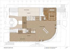 icc tech park corporate office spaces at s b road pune ground floor plan