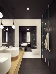 dark bathroom ideas contemporary bathroom designs ideas with a trendy and chic interior