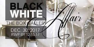 new years party box the box gallery 6th annual black white affair new years party