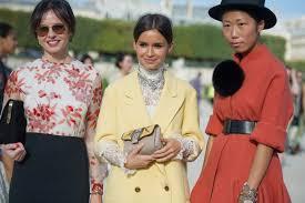 minggu fesyen musim bunga dan panas 2013 milan dirasmikan street look parisien pfw2012 3 journal by covet chic